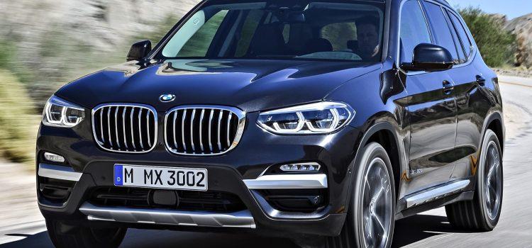 La nouvelle BMW X3 Sport est sortie d'usine !