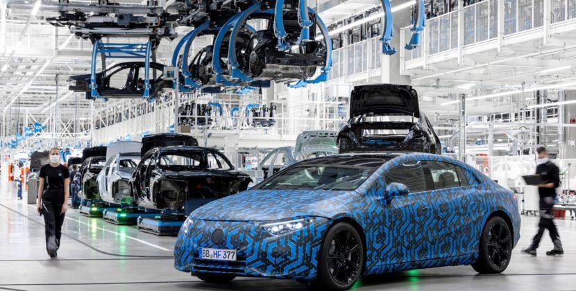 Mercedes-Benz passe à l'offensive électrique avec six modèles